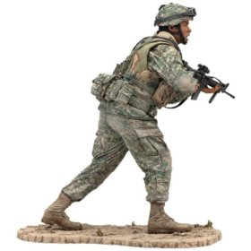 McFarlane's Military Series 4 Army Infantry Toy Soldier
