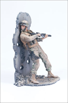 McFarlane's Military Second Tour of Duty Marine - Military Action Figure
