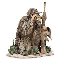 McFarlane's Military Redeployed Series 2 Army Special Forces Sniper Observer toy soldier