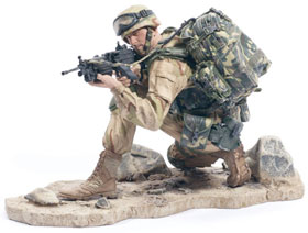 McFarlane's Military Series 1 Army Ranger action figure toy soldier