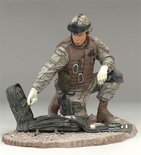 McFarlane's Military Figures - Series 4 Navy Field Medic action figure