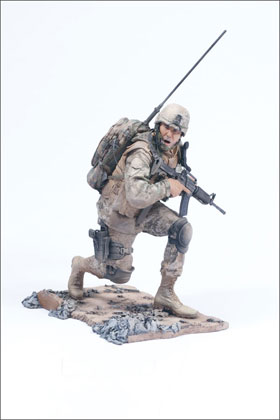 McFarlane's Military Second Tour of Duty Marine Radioman - Marine Corps Toy