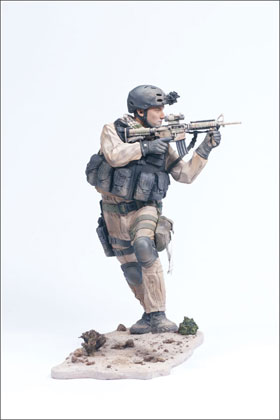McFarlane's Military 2nd Tour of Duty Navy Seal Commando - Military Action Figure